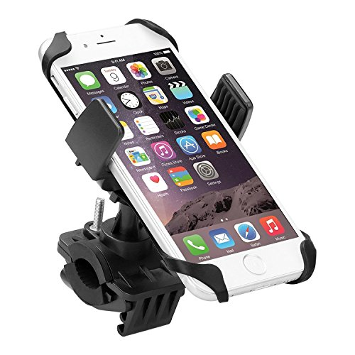 Handyhalterung-Fahrrad-EMTOP-Verstellbare-Universal-Smartphone-Fahrrad-Motorradhalterung-Halter-mit-360-Grad-drehen-Kautschukband-40-57-Zoll-Einstellbar-mit-Klemm-Geeignet-fr-iPhone-Android-und-GPS-Ei