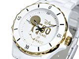 ディズニー ミッキー 腕時計 80周年 ハイブリッドセラミック ホワイト DISNEY-8