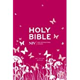 NIV Pocket Bible (Pink Soft-tone with Zip)by New International Version