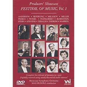 Producers' Showcase - Festival of Music, Vol. 1 movie