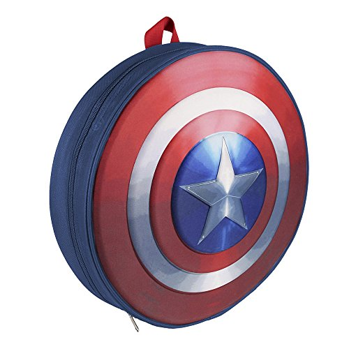 Marvel 210000153035cm Captain America Shield 3d zaino