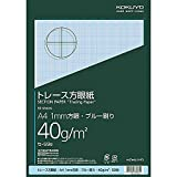 A4 50 pieces of Kokuyo S T trace graph paper light seasoned japan import