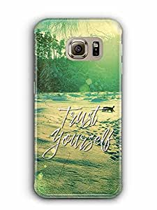 YuBingo Trust Yourself Designer Mobile Case Back Cover for Samsung Galaxy S6 Edge