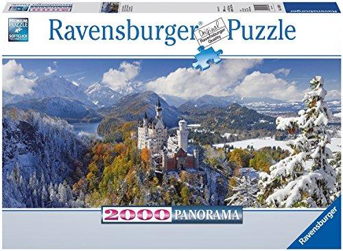 Neuschwanstein Castle 2000 PiecePanorama XXL Puzzle