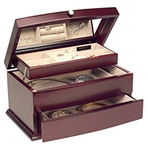 Mele & Co. Meghan Cherry Jewelry Box