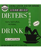 DOUBLE PACK - Uncle Lee's Tea, Legends of China, Dieter's 100% Natural Herbal Drink, No Caffeine, 30 Tea Bags, 2.42 oz