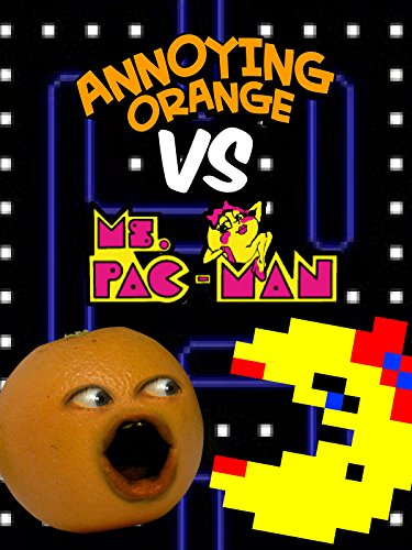 Clip: Annoying Orange vs Ms. Pac-Man