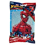 Perler 80-11122 Spiderman Marvel Pattern and Fuse Bead Kit, x 11'', 3503pc (Color: Spiderman)