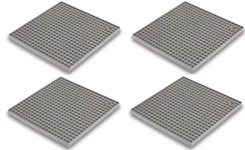 4-pack-Topfuntersetzer-untersetzer-Nava-Pfannen-untersetzer-Silikon-Topf-undersetzer-18cm-x-18cm