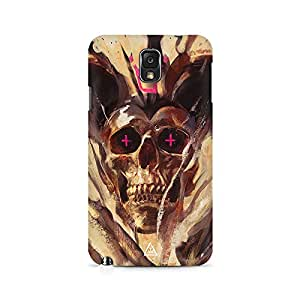 Mobicture Skull Art Premium Printed Case For Samsung Note 3 N9006