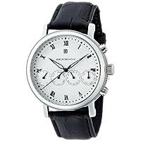 [ブルッキアーナ]BROOKIANA Quadruplicate 機械式腕時計 4連マルチカレンダー[西暦,月,曜日,日付,24時間計] BA1664-SV メンズ