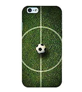 Football 3D Hard Polycarbonate Designer Back Case Cover for Apple iPhone 6S