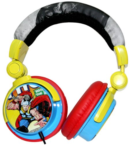 Ihip (Marvel Collection) Thor God Of Thunder Dj-Style Headphones