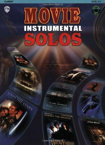 Movie Instrumental Solos:Clarinet Book W CD