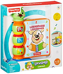 fisher price laugh learn song book german. Black Bedroom Furniture Sets. Home Design Ideas