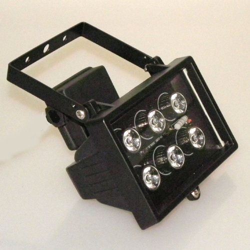 High Power 6x1W LED Strahler GRÜN IP44