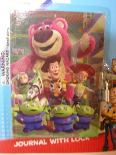 Disney Toy Stoy Buzz Lightyear Woody etc Diary Journal with Lock