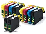 Epson Stylus S22 x10 Compatible Printer Inks E-1281 - E 1284