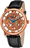 Stuhrling Original Men's Lifestyles Winchester Grand Automatic Skeleton Watch Gold 165B.334514