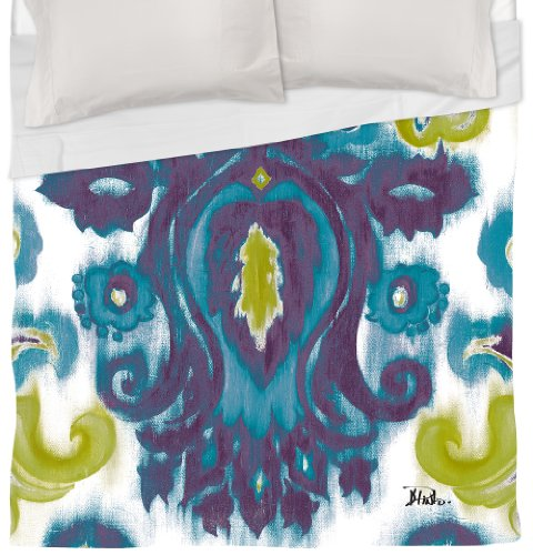 Thumbprintz Duvet Cover, King, Purple And Blue Radiant Transitions front-459575