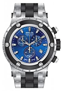 Invicta Subaqua Chronograph Gunmetal Dial Stainless Steel Mens Watch 80516