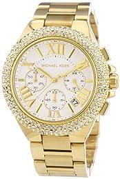 Michael Kors MK5756 43mm Gold Plated Stainless Steel Case Gold Tone Steel Bracelet Mineral Women's Watch