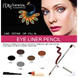 Itay Beauty Mineral Cosmetics Long Lasting Eye Liner Pencil in Black