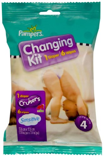 Pampers Changing Kit - Size 4