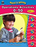 img - for Math In Action: Operation Activities 0-50, Grades 1-2 (Math in Action series) book / textbook / text book