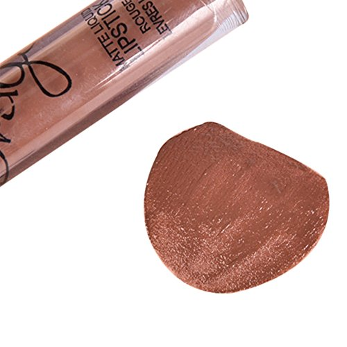 chicmall-16-colors-waterproof-long-lasting-matte-lip-gloss-not-stick-on-cup-lipstick-cosmetic-brown