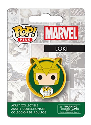 Funko - Pins Marvel - Loki Pop 3cm - 0849803072810