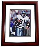 Signed Brown Picture - Oakland Raiders 8x10 MAHOGANY CUSTOM FRAME Future Hall of Famer - Autographed NFL Photos at Amazon.com