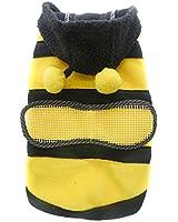 Moonar®Mignon&Fashion Pets Chiens Toutous Cosplay Manteau Animal Abeille En Molleton Polarfleece