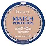 Rimmel London Match Perfection Compact Powder, True Ivory