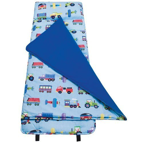 Wildkin Olive Kids Train, Planes and Trucks Nap Mat by Olive Kids TOY (English Manual)