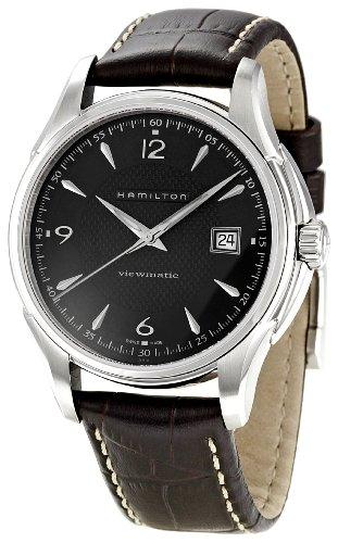 Hamilton Men's H32515535 Jazzmaster Black Dial Watch