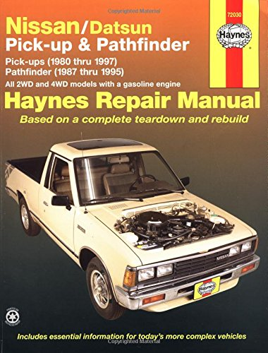 Nissan/Datsun Pickups & Pathfinder: Pick-Up (1980 Thru 1997) Pathfinder (1987 Thru 1995) (Haynes Manuals) front-530131