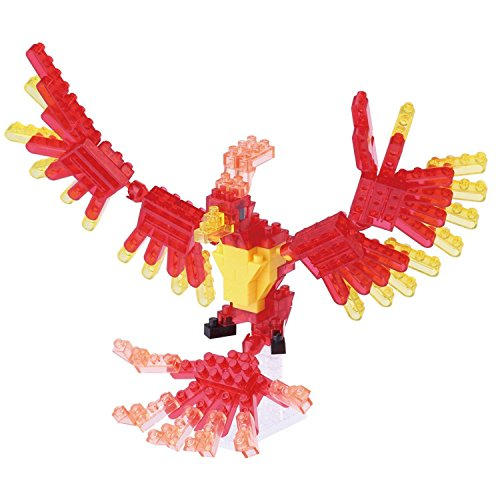 Kawada NanoBlock - NBC-175 - Phoenix Micro Block Miniature Collection Puzzle (140 Piece)