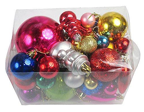 R-STYLE 豪華に装飾 クリスマス ツリー 飾り ボール オーナメント 選べる個数バラエティセット (30個入り)