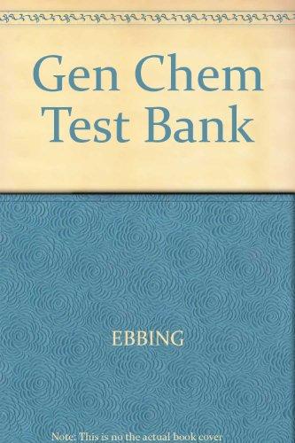Gen Chem Test Bank