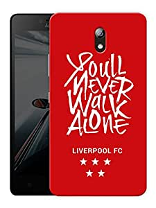 "You'Ll Never Walk Alone Printed Designer Mobile Back Cover For ""Lenovo Vibe P1m"" By Humor Gang (3D, Matte Finish, Premium Quality, Protective Snap On Slim Hard Phone Case, Multi Color)"