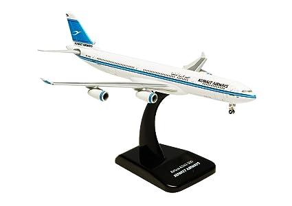 Airbus A340-300 Kuwait Airways maquette avion échelle 1:400