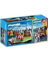 Playmobil - 5168 - Figurine - Compact SetAnniversaire - Tournoi Des Chevaliers Avec Canon