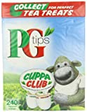 PG Tips Black Tea Pyramid Teabags (Pack of 4, Total 960 Teabags)