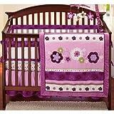 NoJo Secure-Me Mesh Crib Liner, Pretty In Purple