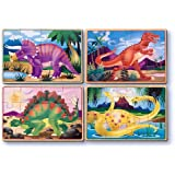 2 X Melissa & Doug Deluxe Dinosaur in a Box Jigsaw Puzzles
