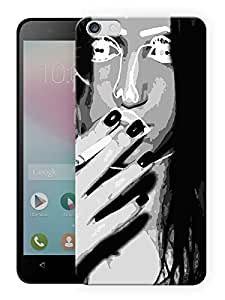 """Humor Gang Girl Next Door Printed Designer Mobile Back Cover For """"Huawei Honor 4X"""" (3D, Matte, Premium Quality Snap On Case)"""