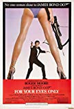 """James Bond For Your Eyes Only Movie Poster Replica 13 X 19"""" Photo Print"""