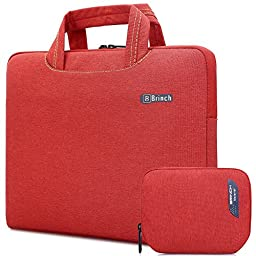 Brinch Universal Portable Anti-Tear Fabric Laptop Sleeve Case for 15 - 15.6 Inch Laptop