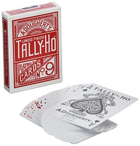 MMS Cards Tally Ho Circle Back (Red)